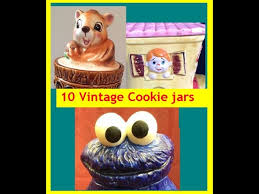 A Collection Of 10 Vintage Novelty Cookie Jars What Is